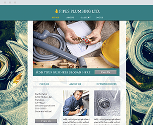 Pipes Website Design Themes by Search Marketing Specialists