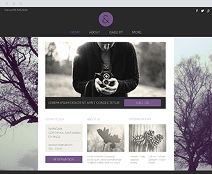 Purple Dreams Website Design Themes by Search Marketing Specialists