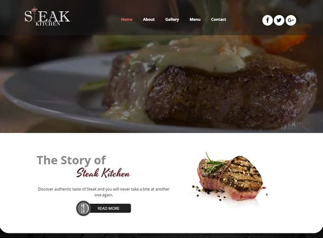 Restaurant Website Design Themes by Search Marketing Specialists