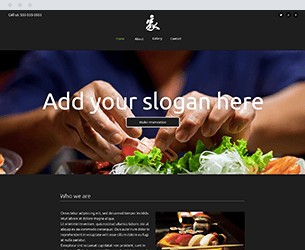 Sushi Website Design Themes by Search Marketing Specialists