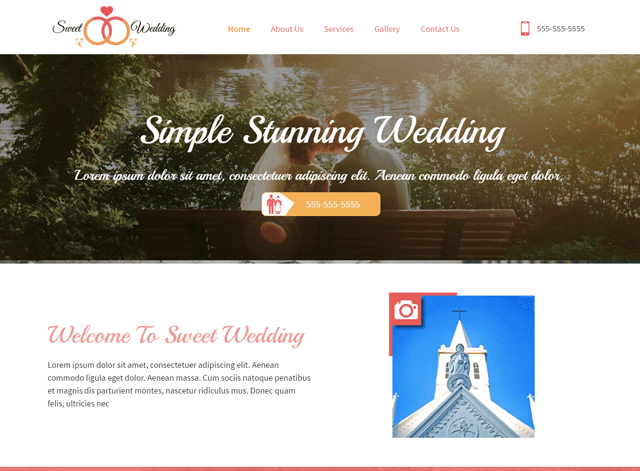 Wedding Website Design Themes by Search Marketing Specialists