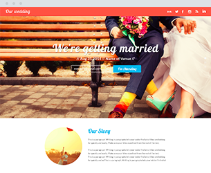 The Wedding Website Design Themes by Search Marketing Specialists