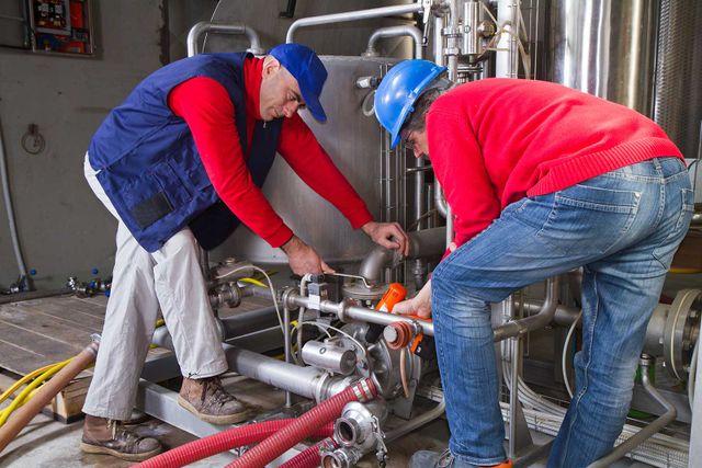 water pipeline maintenance