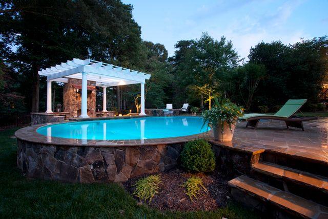 Custom Pool Design Charlotte, NC