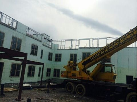 Ongoing construction project