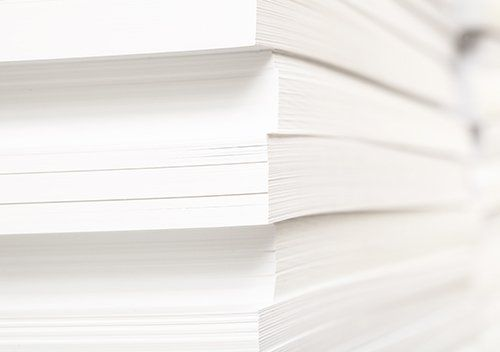 pila di fogli di carta