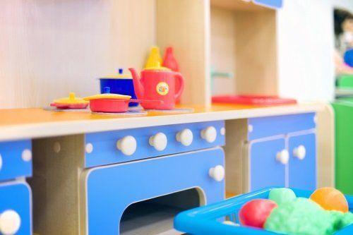 una cucina per bambini