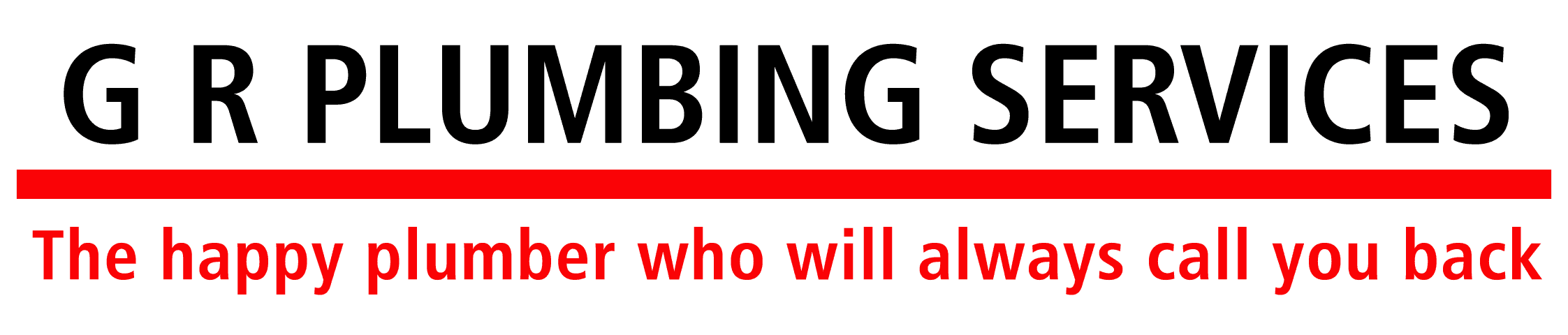 GR Plumbing Services logo