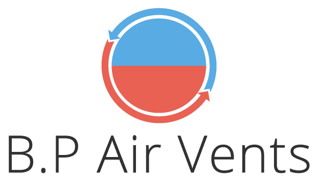 B.P Air Vents logo