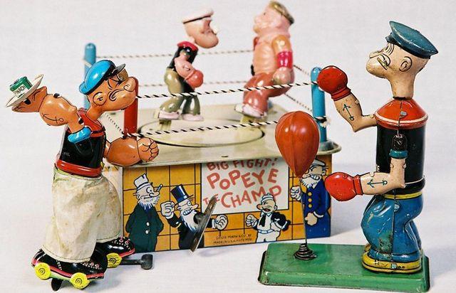 Popeye dolls