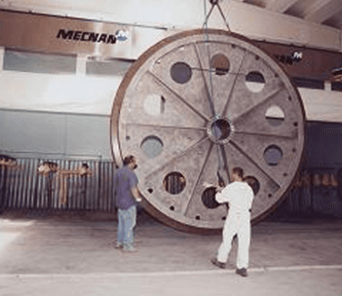 assemblaggi di strutture meccaniche; assemblaggio; verniciatura industriale