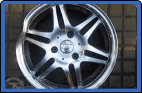 We remove the wheels from your car