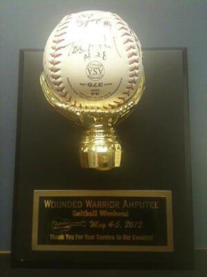 Baseball Trophy — Custom Trophies in Tupelo, MS