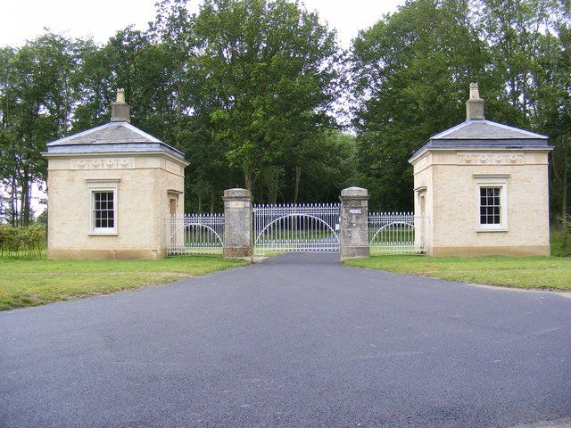 Heveningham Hall Gate Lodges  Grade II* Listed