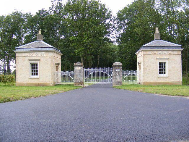 Heveningham Hall Gate Lodges  Grade II* Listed
