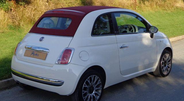 Fiat 500 C Pop rear view