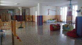 area giochi interna per bambini