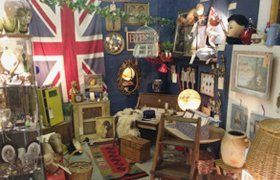collection of antiques