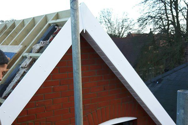 new fascias and soffits installed