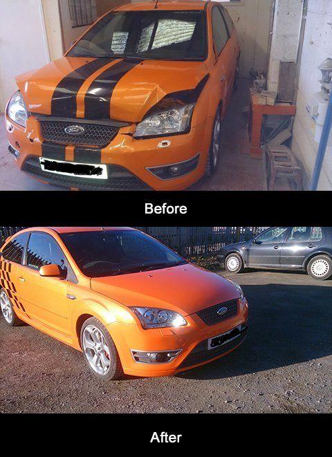 Auto body repair centre
