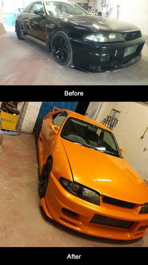 Bumper refinishing