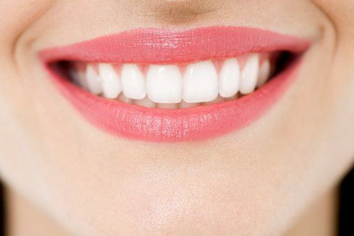 bright white smile