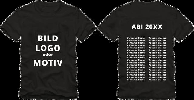 Abschluss T Shirts Für Schüler/Studenten Mit Individuellen Motiven Und  Texten