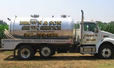 Home | Brown & Son Septic Tank Service - ,