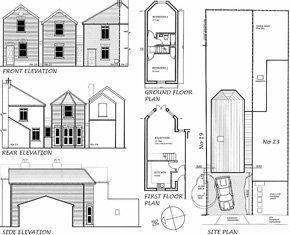 Surveying - Thornton Heath, Surrey - John Collins Associates - Building Plan