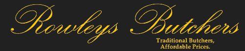 rowley's butchers logo