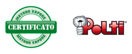 Metodo a vapore certificato Polti Puntoservice