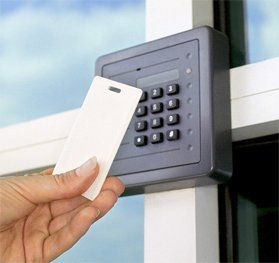 We install and service access control systems and card readers