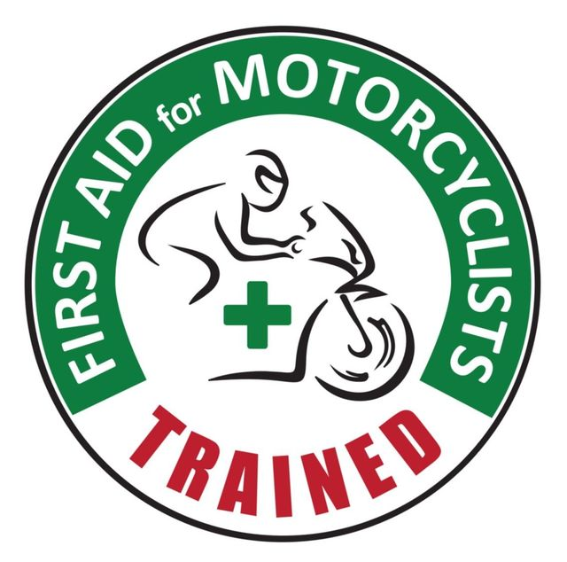First aid motorcycles logo