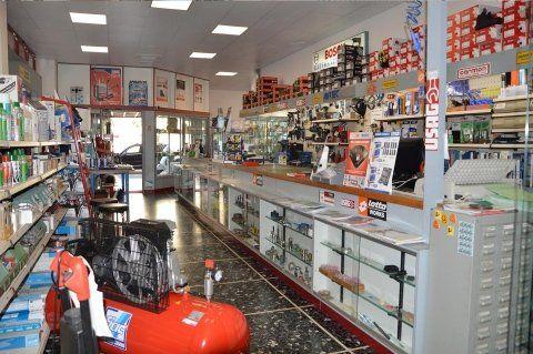 vista interna di negozio