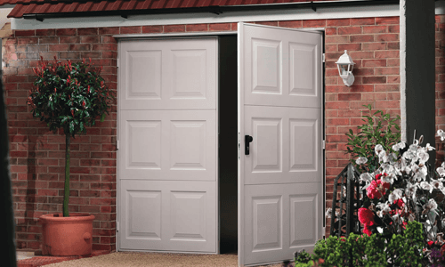 Side Hinged Garage Door Suppliers In North Shields
