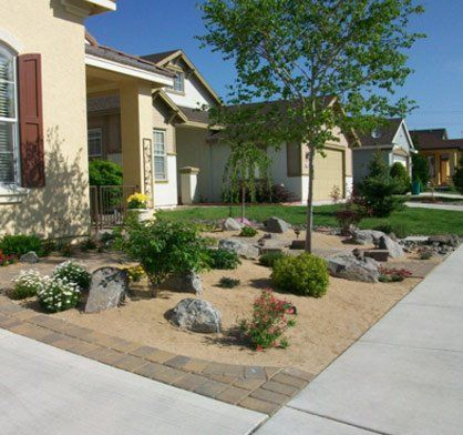 House — Pathway in Reno, NV - Walkways And PaversReno, NV S & A Enterprises Landscaping