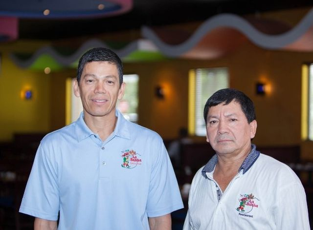 Rosenvel Molina (Manager) and Dimas Molina (Chef)
