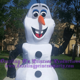 Holiday Character Party Snowman