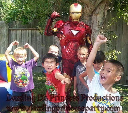 Superhero Character Party Packages