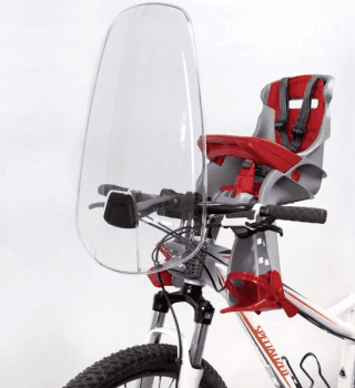 seggiolino anteriore bicicletta
