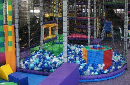 balls in net