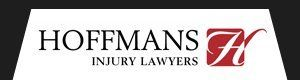 Hoffmans Lawyers logo black bg