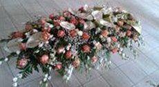 addobbi floreali, corone, cuscini, croci