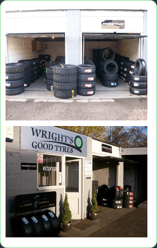Exterior of Wright's Good Tyres