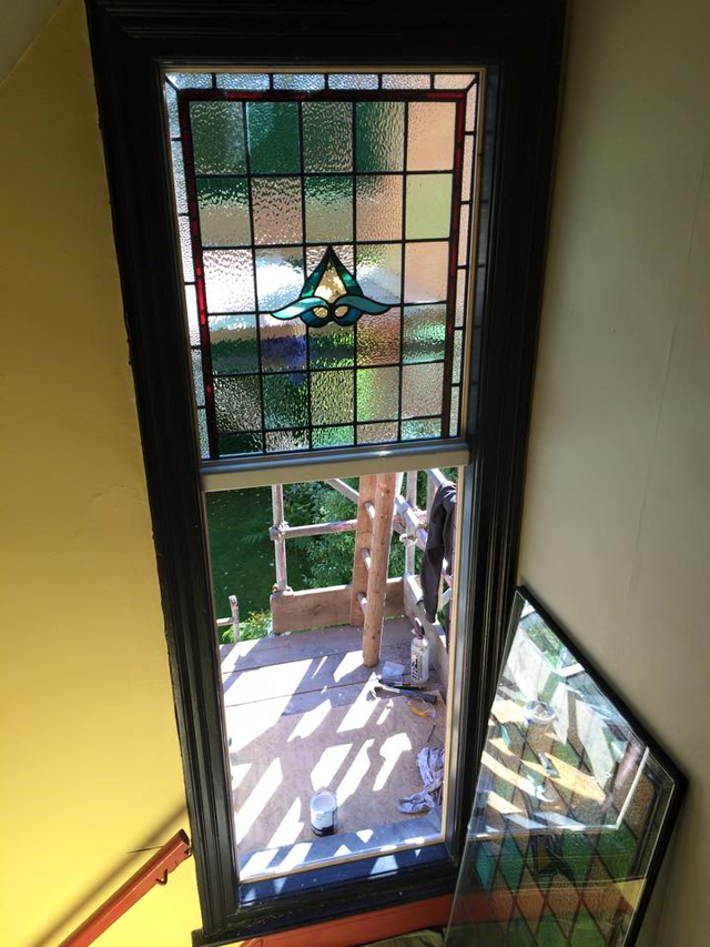 Double Glass 5 3 Window : Stained glass encapsulation specialists in leeds