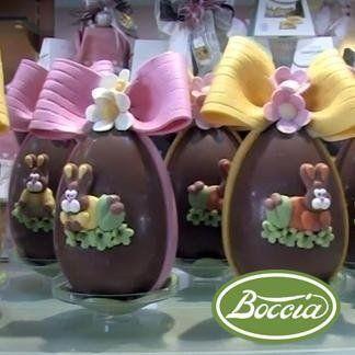 Uova di cioccolata artigianali Pasticceria Boccia