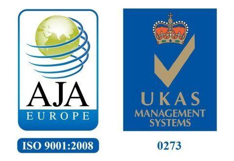 Certificazioni ISO 9001 e UKAS