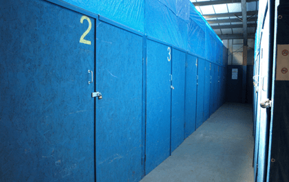 Secure storage in North Wales