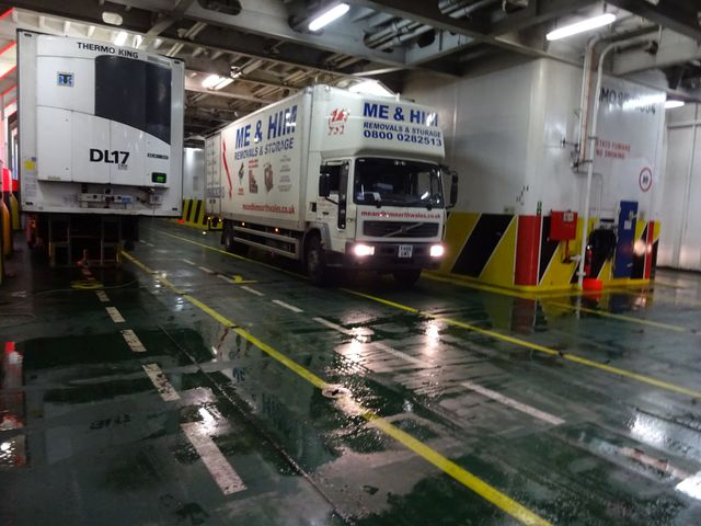 European removals within the United Kingdom