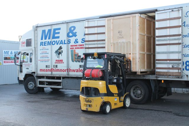 containerised storage in north wales
